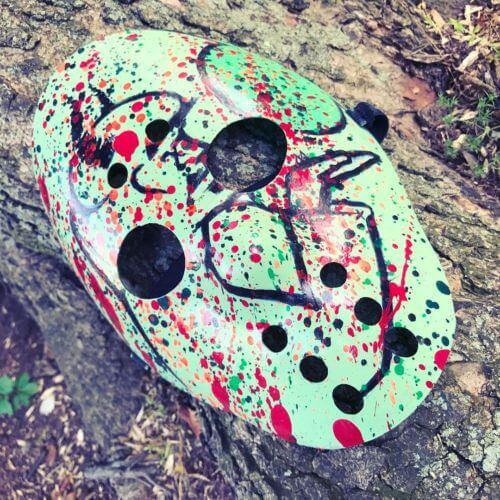 Esham Reel Life Hockey Mask by Diesel's Artistic Creations