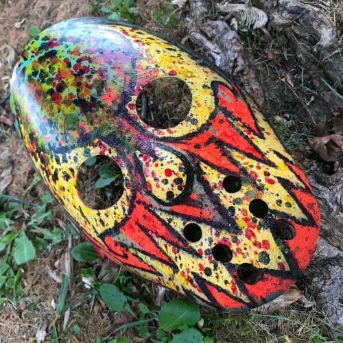House of Krazees Hockey Mask by Diesel's Artistic Creations